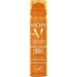 Vichy Ideal Soleil SPF50 Bruma Rostro Efecto Frescor 75 Ml