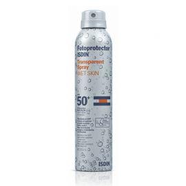 Fotoprotector Isdin SPF 50+ Spray Transparent Wet Skin 200Ml