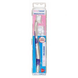 Lacer Cepillo Dental Adulto Gingilacer Cabezal Pequeño Suave