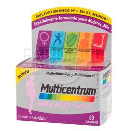 Multicentrum Mujer 50+30 Comprimidos