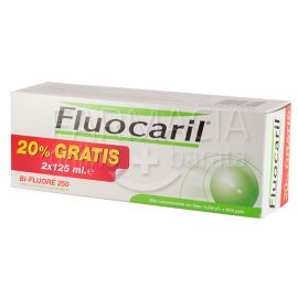 Fluocaril Bi-Floure 250 Duplo Pasta Dentifrica 2x125ml