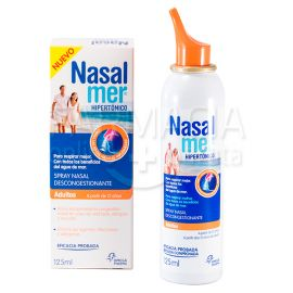 Nasalmer Spray Nasal Hipertónico 125 Ml