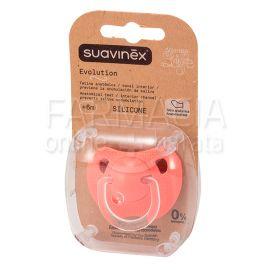 Chupete Suavinex Evolution Tetina Anatómica Silicona +6 Meses