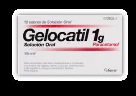 Gelocatil 1 Gr Solución Oral 10 Sobres