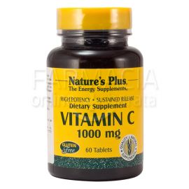 Nature´s Plus Vitamina C 1000 Mg 60 Comprimidos