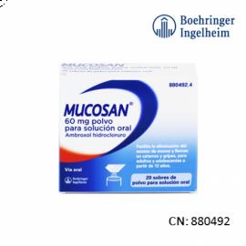 Mucosan 60 Mg 20 Sobres Granulado