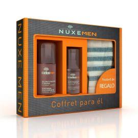 Nuxe Men Cofre Gel Hidratante 50Ml + Contorno de Ojos 15Ml + Regalo Foulard