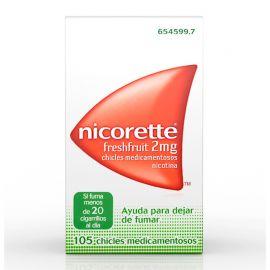 Nicorette FreshFruit 2 Mg 105 Chicles