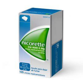 Nicorette Ice Mint 4 Mg 105 Chicles