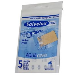 Salvelox Med Aqua Cover 76x54mm 5 Apósitos