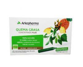 Arkopharma Quema Grasa Concentrado Plus 20 Ampollas
