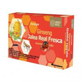 Arkoreal Jalea Real Fresca Dynergie 20 ampollas 15 Ml