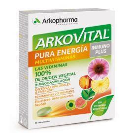 Arkovital Pura Energía Multivitaminas Inmuno Plus 30 Comprimidos