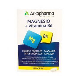 Arkopharma Magnesio + Vitamina B6 30 Cápsulas