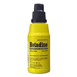 Betadine Solucion Dermica 125 Ml