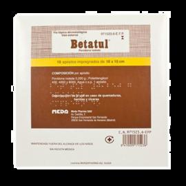 Betatul 250 Mg 10 Apósitos Impregnados 10x10