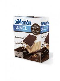 Bimanan Snack Chocolate Negro y Praliné 20 Gr 6 Unidades