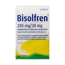 Bisolfren 200 Mg/30 Mg 20 Comprimidos