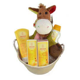 Canastilla de Bebé Weleda 4 productos