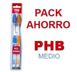 Cepillo Phb Plus Medio Duplo