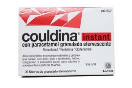 Couldina Instant con Paracetamol 20 Sobres Efervescentes