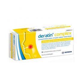 Deratin Complex Miel Limón 30 Comprimos para chupar