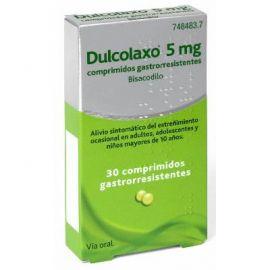 Dulcolaxo 5 Mg 30 Comprimidos