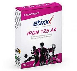 Etixx Iron 125 Aa 30 cápsulas