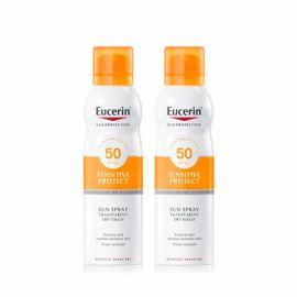 Eucerin Sun Protection Duplo Spray Transparante SPF50
