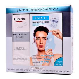 Eucerin Hyaluron-Filler SPF15 50Ml + Regalo Hyaluron Filler Mascarillas Facial