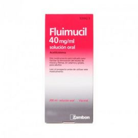 Fluimucil 40Mg/Ml Solución Oral 200 Ml