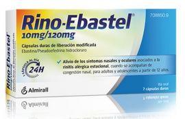 Rino Ebastel 10/120 Mg 7 Cápsulas