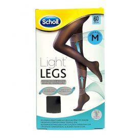 Dr Scholl Medias Light Legs 60 DEN Negro T-M Mejoran la Circulación