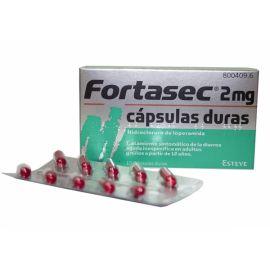 Fortasec 2 Mg 10 Cápsulas