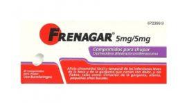 Frenagar 5 Mg/5 Mg 20 Comprimidos para Chupar