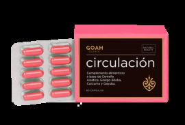 Goah Clinic Circulación 60 Cápsulas