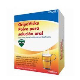 Gripavicks Polvo Solucion Oral 10 Sobres