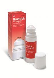 Ibustick Gel Ibuprofeno 50 Mg/Gr Roll-On 60 Gr