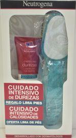 Neutrogena Crema Pies Durezas 50 Ml + REGALO Lima Pies