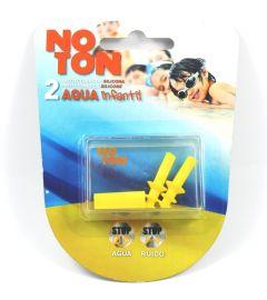 Noton Tapones de Silicona para Oidos Agua Infantil 2 Unidades