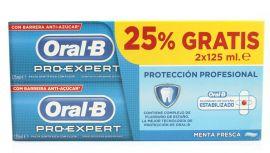 Oral-B Pro-Expert Protección Pofesional Pasta Duplo 2x 125ml