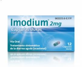 Imodium 2 Mg 12 Capsulas