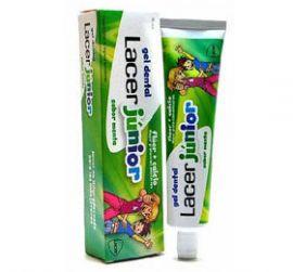 Lacer Junior Gel Dental Menta 75 Ml