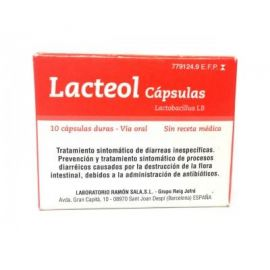 Lacteol 10 Cápsulas