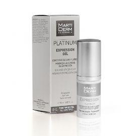 Martiderm Platinum Expression Gel Contorno de Ojos y Labios 15 Ml