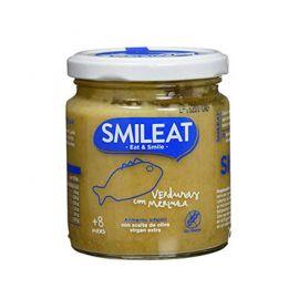 Smileat Tarrito De Merluza Con Verduras Ecológico 230Gr