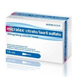 Micralax 5 Ml 12 Microenemas