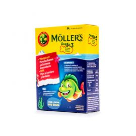 Moller's Omega-3 45 Gominolas