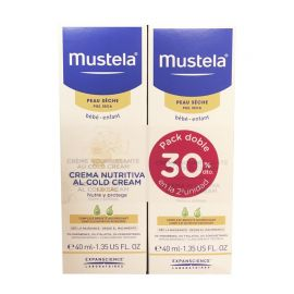 Mustela Crema Nutritiva Cold Cream 40 Ml DUPLO