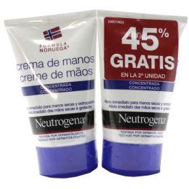 Neutrogena Crema De Manos Concentrada Duplo 2x50 Ml